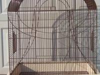 I have a large cage for sale that is ideal for one