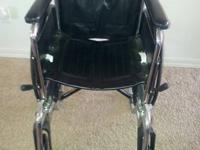 I have a Medline Wheelchair in excellent condition,
