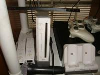 Wii game system, Charging station, 2 wireless
