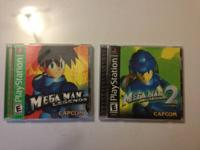 For sale are Megaman legends 1 & 2. If you don't like