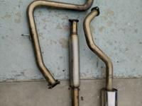 This set of Stainless Steel Catback Exhaust System made
