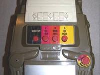 Robot Game Machine takes tape from the 70's, good