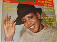 Amazing Dec 1977 Issue, w/Melba Moore On Cover Of Black