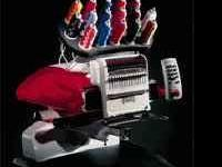 : Melco Amaya 16 Needle Embroidery Machine, come with
