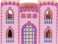 Here is a charming take-along castle perfect for a