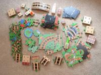 Similar to a wood train set, this is a puzzle that