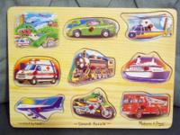 Two Melissa & Doug Puzzles, in excellent condition and