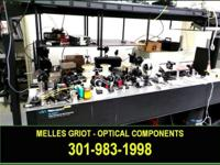 Melles Griot optical bench components for sale. May buy