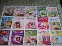 FOR SALE: MEMORY MAKERS MAGAZINES (40 ISSUES). DATING