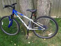 I have 13 inch royal blue and silver Trek mountain bike