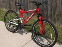 Men's 26 Schwinn Protocol 1.0 Dual-Suspension 24 Speed