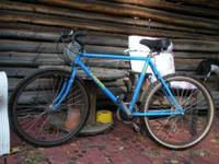 This is a nice, larger men's trail or road bike. It's