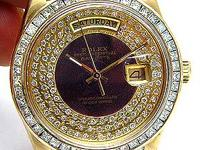 14K Men's 4ct Diamond dial Rolex Presidential Watch It