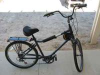 Men's bicycle by GIANT (like new & has extras) Model: