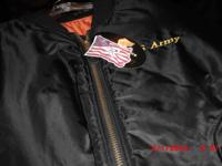 Men's army military jacket brand: Rothco Color: Black