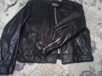 Men's size 46 Open Road Collection Leather jacket. Good