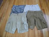 "MEN'S CARGO SHORTS BY AMERICAN EAGLE Size-30"" waist"