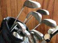 This is a complete Wilson HT-1000 set of irons, PW,