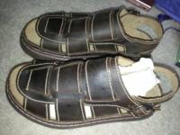 NIB Never Worn Men's Colorado Sandals. These are the