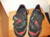Men's Comp Bike shoes for locking peddals Size 12 If