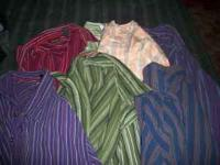 7 long sleeve, 4 short sleeve All in great condition.