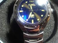 Men's Fossil blue Watch Brand New Needs a battery