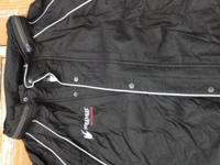 Men's XXL black Frogg Togg full rainsuit with carry