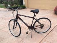Good condition in Naples. 21 speed, merlot color. Blue