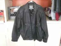 I have a Men's heavy Leather Jacket size XL it has a