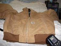 Hunting/fishing jackets and vests for sale. The