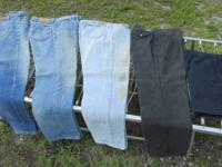 Men's ... 4 Pairs of jeans, 1 pair of shorts ... for