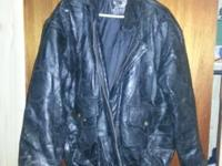 We have a men's size XL Leather jacket for sale. It's