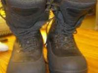 I am selling my men's Lacrosse brand boots. They are