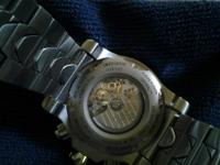 The watch has a Swiss Eta, 25 Jewel, Elaborate