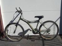 Men's mountain bike for sale.  It's in the shape of a