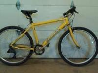 "Very nice 18"" Cannondale Mountain Bike! Hardly ever"