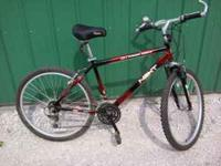 21 speed men's mountain bike fore sale. In good