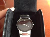 I have a Men's Movado Safiro in good condition for