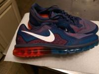 Men's Nike Air Max 2014 Shoes. Size 12. Worn once to