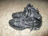 Men's Nike Flight Basketball shoes, size 8.  Worn for