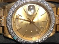 THIS IS AN EXCELLENT CONDITION MEN'S ROLEX PRESIDENTIAL