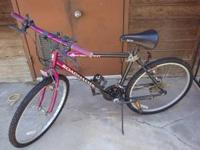 I have a 6 speed/gear bike for sale. It is a purple