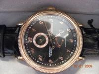 "This is a rare man watch made by ""Rousseau"" This cost"
