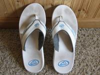 I have a nice pair of men's size 12 Reef Fanning flip