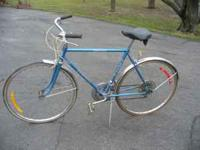 "Ross ""Eurotour"", 27"", 10-speed, $65. Columbia ""A&W"" 26"""