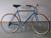 Great older bike. Good condition... shiny rims...