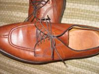 Brown Leather. MADE IN THE USA!! Worn Once!!!!!Style is