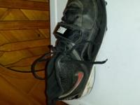 I've got two size 13-14 men's football shoes each worn,