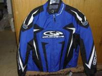 Coldwave Men's Snowmobile Jackets Blue- Med, Lg, XL
