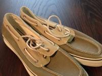 Sperry's in good condition, size 13. From Nordstrom's